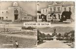 40 - BATNA - LA NOUVELLE MEDERSA - L'HOTEL DE VILLE - LE MONUMENT AUX MORTS - LA PISCINE MUNICIPALE (  Animées ) ALGERIE - Batna