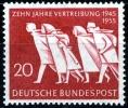 Germania 1955 Family In Flight MNH - Lot. 208 - [6] République Démocratique