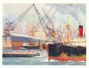 Grande Image / Hollande - Port De Rotterdam / Holland Harbor / BIM41 - Cromos