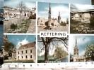 ENGLAND NORTHAMPTONSHIRE KETTERING CHURCH PARK MANOR HAUSE  SHEEP STREET V1988 QSL   DP5689 - Northamptonshire