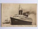 Compagnie Transatlantique - Le NORMANDIE, Ligne LE HAVRE -NEW YORK - Steamers