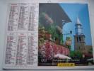 Almanach Du Facteur 1999 - YVOIRE COLMAR - VOSGES N°88 - OLLER - LA POSTE - Calendarios