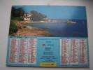 Almanach Du Facteur 1995 - Ste Maxime - Les Gets - MEURTHE ET MOSELLE  N°54 - LAVIGNE - LA POSTE - Calendari