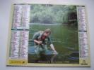 Almanach Du Facteur 1998 - LA PÊCHE - LA CHASSE - VOSGES  N°88 - Oberthur - LA POSTE - Calendari