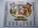 Almanach Du Facteur 1993 - Le Passé Illustration Attelage Chevaux -animé-personnages- VOSGES  N°88 - Oberthur - LA POSTE - Formato Piccolo : 1991-00