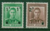 NEW ZEALAND 1941 1d+2d Overprint M/Mint SG 628/9 - New Zealand