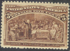 # United States 234, Mint, Og,   (us234-5,10gs - 1847-99 General Issues