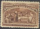 # United States 234, Mint, Og,   (us234-5,10gs - Unused Stamps