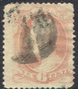 # United States   186, Used,    (us186-3, 10cb - Used Stamps