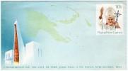 PAPUA NEW GUINEA-COVER 1984 COMMEMORATING THE VISIT OF POPE JOHN PAUL II / PAPE JEAN PAUL II - Papua Nuova Guinea