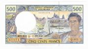 Polynésie Française - 500 FCFP - Q.015 / 2011 / Signatures Barroux-Noyer-Besse - Neuf  / Jamais Circulé - Papeete (Polynésie Française 1914-1985)