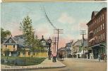 Bar Harbor Main Street From Village Green Color Tuck P. Used Bar Harbor 1910 - Etats-Unis