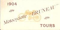 Cycles/Motocyclette BRUNEAU/Tours   VP1 - Vieux Papiers