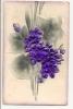 Fleurs En Relief - Bestickt