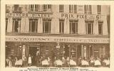 """CP De PARIS """" Restaurant ROBERT-BOGEY Et HENRI BOGEY Rue St-honoré Face Les Magasins Du Louvre """" . - Cafés, Hotels, Restaurants"""