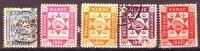 Marokko MAROC Privatpost (?) TETOUAN CHECHOUAN 1896, Unterschiedliche Erhaltung - Stamps