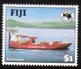 Fiji 1984 Cargo Ship $1 Ausipex MNH - Fiji (1970-...)