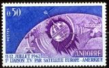 Andorra Francese 1962 Satellite Europa MNH - Lot. 245 - Andorra Francese