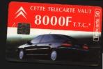 Télécarte 50u Utilisée Luxe  CITROËN XANTIA         F537A   Du 12/ 1994 - France