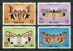 1980 Kiribati Fauna Farfalle Butterflies Schmetterlinge Papillons Set MNH**167 - Kiribati (1979-...)