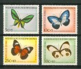 1960 Nuova Guinea Olandese Fauna Farfalle Butterflies Schmetterlinge Papillons Set MNH**168 - Nuova Guinea Olandese