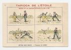 Chromo Tapioca Etoile Imp. Courbe Rouzet Honneur Satisfait Escrime Duel Combat épée Sabre A19-01 - Chromos