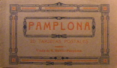 1925 Pamplona Carnet De 20 Tarjetas Postales Très Bon état Superbe - Navarra (Pamplona)