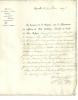 Manuscrit De 1823; émis Par Le Département Des Affaires Du Culte Catholique, Envoyé à Gand, Griffe De Brussel - Manuscrits