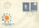 Hungary Stamp On FDC - Astrology