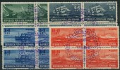 Roumanie (1948) N 1050 à 1053 (o) Bloc De 4 - 1948-.... Républiques