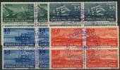 Roumanie (1948) N 1050 à 1053 (o) Bloc De 4 - Used Stamps