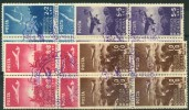 Roumanie (1948) N 1054 à 1057 (o) Bloc De 4 - Used Stamps