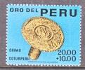 Peru B 5   **   ANCIENT CHIMO  EAR PLUG - Peru
