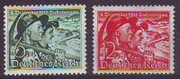 DR/ Österreich 1938, ANK 684- 685, Abstimmung Im Sudetenland, Postfrisch ** - 1918-1945 1. Republik