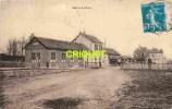 Cpa 18 Avord, La Gare, Vieil Autobus, éd Thiriat-Basuyau, Cachet Convoyeur 1926 - Avord