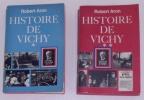 """Lot""""Histoire De Vichy""""/Robert Aron/Régime De Vichy/Maréchal Pétain/Politique/Collaboration/Etat Français/Milice - Histoire"""