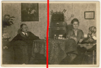 Wilhelmshaven - Großes Original Foto Von 1926 - Familie Mit Radio Und Kopfhörern - Selten!! - Wilhelmshaven