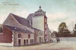 MARCHE = Ancien Château Dess L'Adville + Attelage - Carte Couleur (edit. D.T.C.) écrite - Ohne Zuordnung