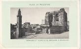 Vues De Palestine -Terrasse Et Tours Du Saint Sépulcre à Jérusalem Chocolaterie D'AIGUEBELLE Carte Postale Neuve Unused - Palestine