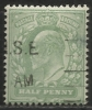 Gran Bretagna - 1/2 P. Usato/used - N. Stanley Gibbons 217 - N. Unificato 106 - 1902-1951 (Re)