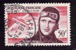 FRANCE  1955 - PA 34 -  Maryse Bastié - Oblitéré - Cote 5e - 1927-1959 Used