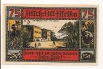 ALLEMAGNE / GERMANY - AFRICA KOLONY - 75 PFENNIG 1922 / SERIE 1 - [12] Colonies & Banques étrangères