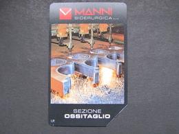 ITALIA TELECOM - 3358 C&C 267 GOLDEN - PRIVATE PUBBLICHE - MANNI OSSITAGLIO LIRE 2.000 - USATA - Private-Omaggi
