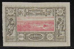 COTE DES SOMALIS - YVERT N° 13 * - COTE = 25 EUROS - Côte Française Des Somalis (1894-1967)