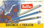 Buvard Baignol Et Farjon. - Buvards, Protège-cahiers Illustrés