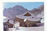 Corée.Temple De Sinheug Sous La Neige, Mt. Seolag - Corée Du Sud