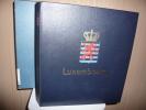 ALBUM DAVO LUXE  + ETUI +  FEUILLES DAVO LUXE LUXEMBOURG    1852 à 1952 - Raccoglitori Con Fogli D'album