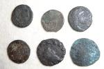 Set Of Roman Coins (lot N°3) To Identify Or Metal Study - Roman