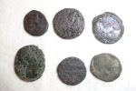 Set Of Roman Coins (lot N°5) To Identify Or Metal Study - Roman
