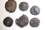 Set Of Roman Coins (lot N°6) To Identify Or Metal Study - Roman